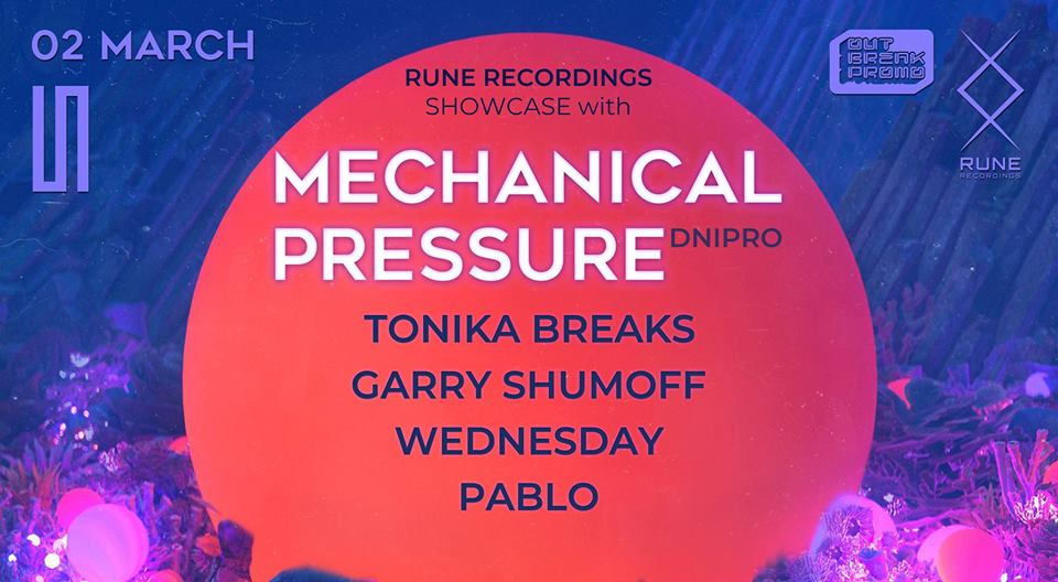 RUNE Recordings showcase with Mechanical Pressure