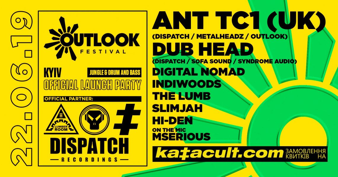 Outlook Festival 2019 Kyiv Official Launch Party