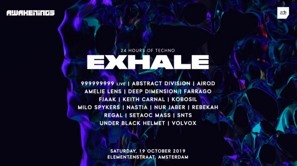 Exhale with Amelie Lens