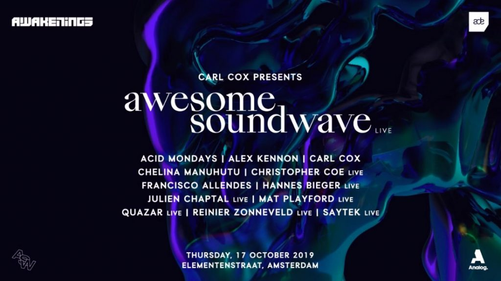 Carl Cox x Awesome Soundwave live